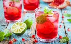 granaatappel ice tea