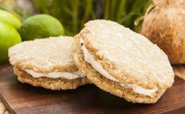Kokos-vanille koekjes