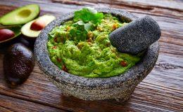 romige avocadopuree